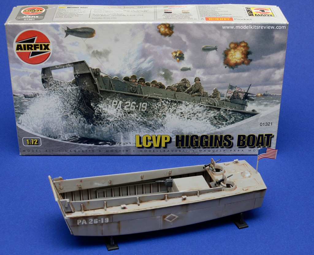 Airfix 1 76 lcvp higgins boat review