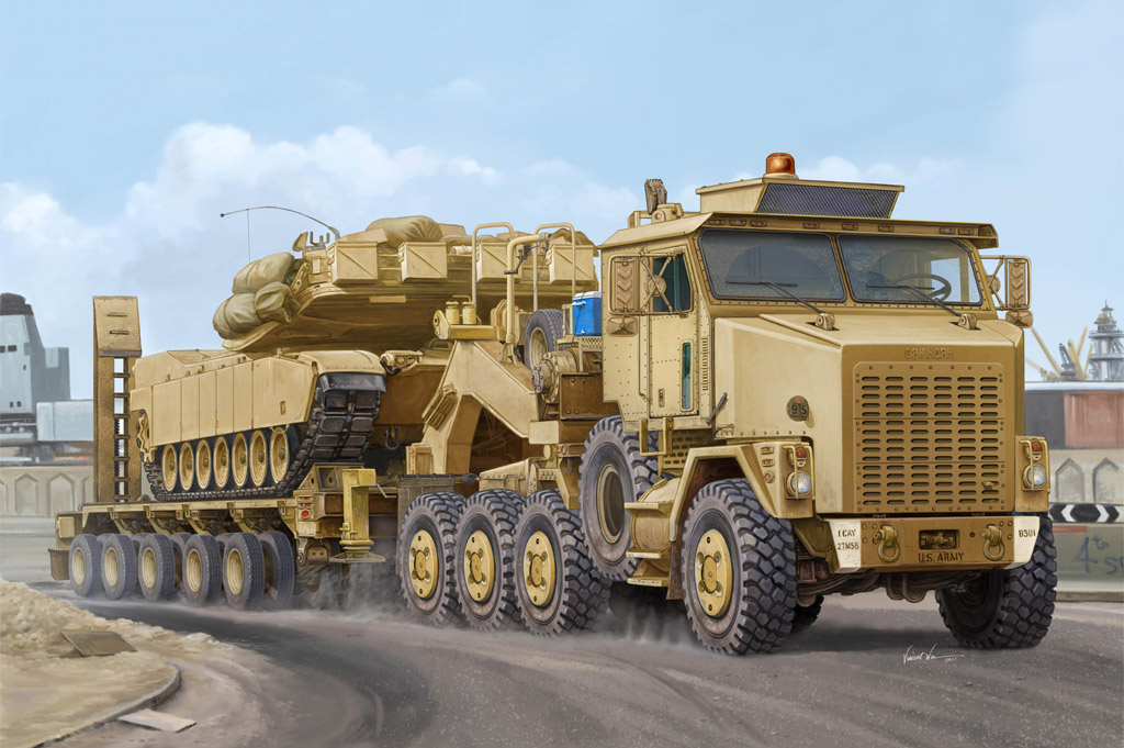 Presenting The New Hobby Boss 1 35 M1070 Truck Tractor
