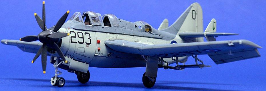 Revell 1/72 Fairey Gannet Model Kit