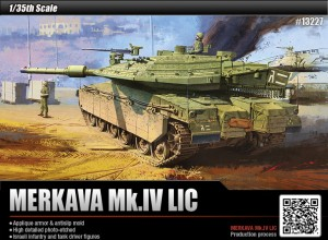 1/35 scale Merkava Mk. IV from Acdemy Models