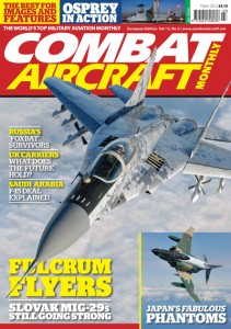 Combat A/C Magazine Cover Featuring a Mig 29 AS Slovak Air Force
