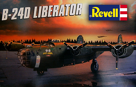 Revell 1/48 Consolidated B-24D Liberator