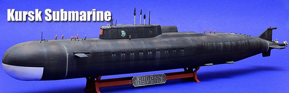1/350 Russian Nuclear Submarine 'Kursk'