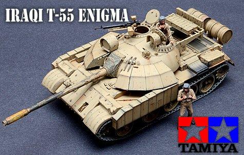 1:35 Tamiya T-55 Enigma Tank