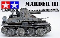 Tamiya Marder Tank Destroyer Model