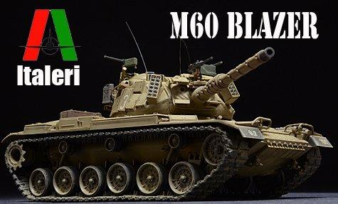 Italeri M60-Blazer Tank
