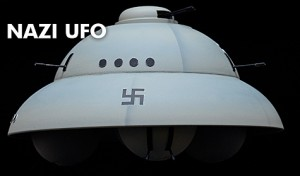 Nazi UFO ''Foo Fighter'' Model