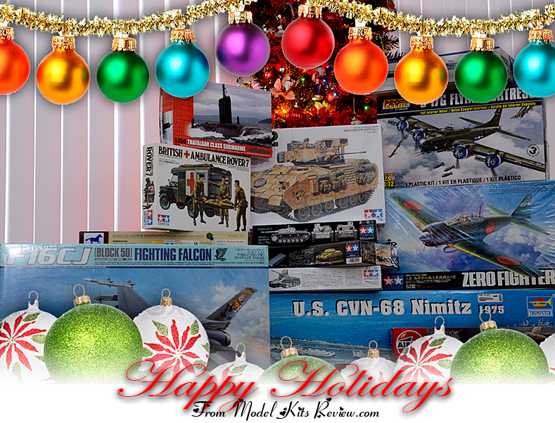 Seasons Greetings from Model Kits Review.com