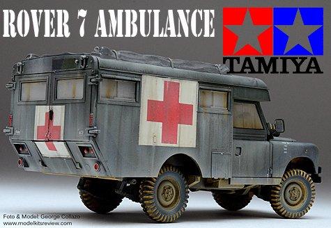 1/35 Tamiya Rover 7 Ambulance