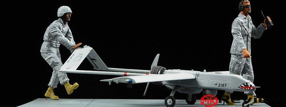 Built Academy RQ-7B UAV