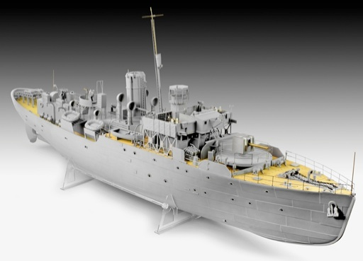 Revell Germany Flower Class Corvette Platinum Edition