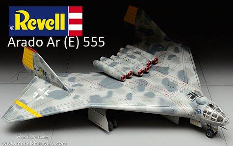 Revell Arado Ar (E) 555 Model
