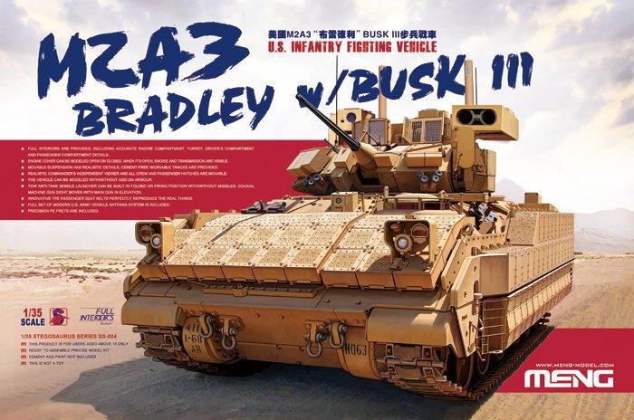 Meng Model M2A3 Bradley w/BUSK III