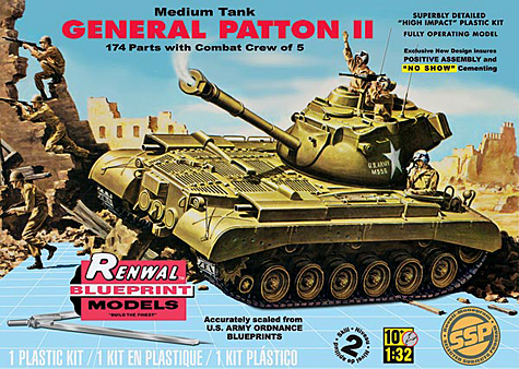 Revell 1/32 M47 Patton II Tank