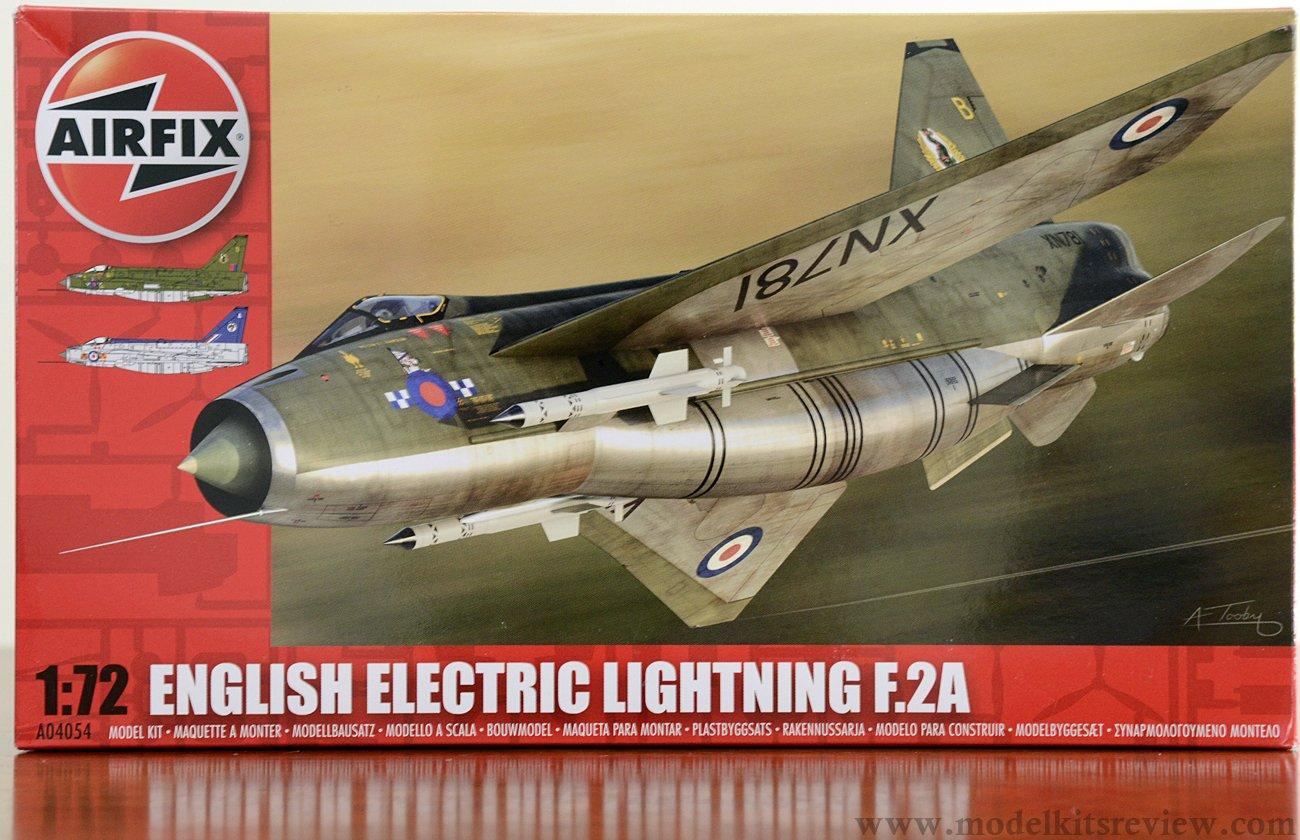 1/72 Airfix English Electric Lightning F.2A