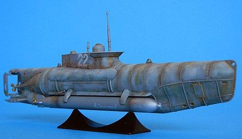 1/72 U-Boat Type XXVIIB Seehund German Midget Submarine