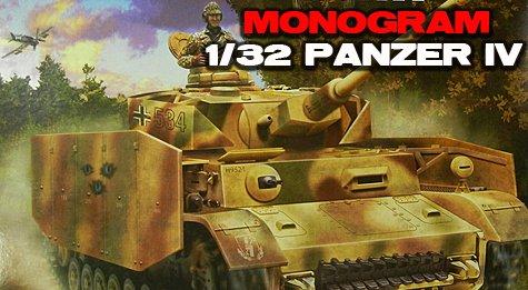 Monogram 1/32 Panzer IV Tank