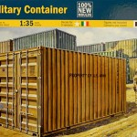 Italeri 1/35 Military Container Model Kit