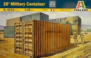 Italeri 1/35 Military Container Model Kit