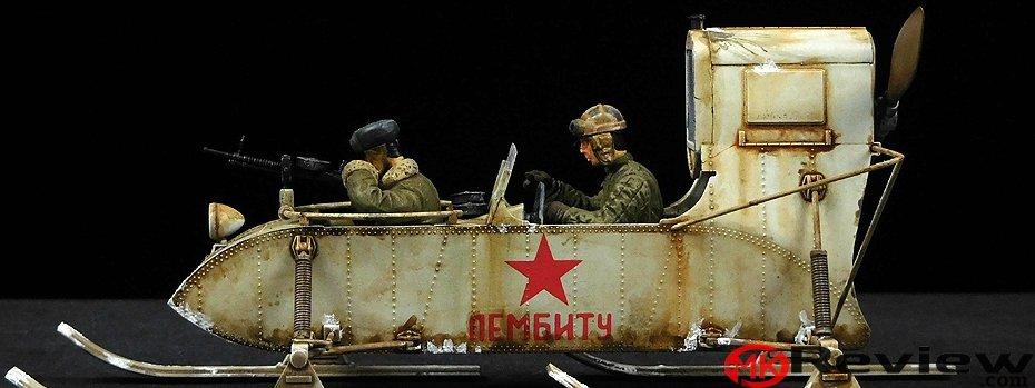 Trumpeter Soviet Aerosan RF-8/GAZ-98
