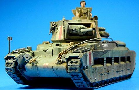 Tamiya 1/48 Matilda Mk.III/IV Tank