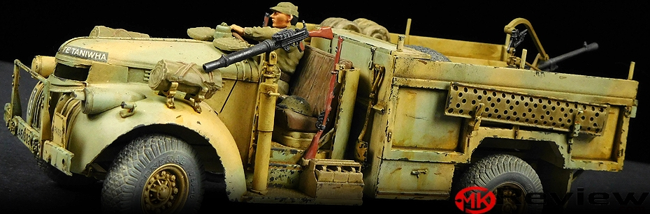 Tamiya LRDG Command Car with Breda 20mm Gun