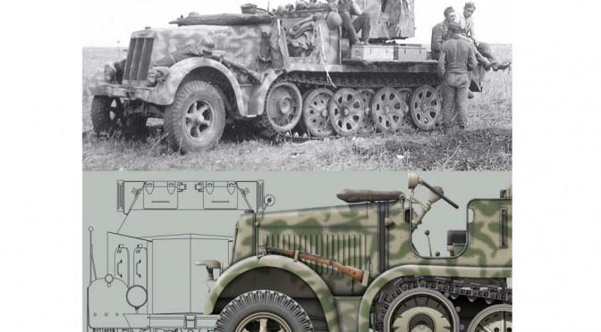 Nuts & Bolts Volume 34: Sd.Kfz. 7 – 8 ton Zugkraftwagen Krauss-Maffei and Variants