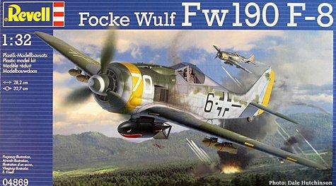 1/32 Revell Fw190 F-8 (Build Log UPDATE)