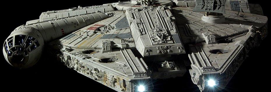 The Force Awakens Millenium Falcon Conversion