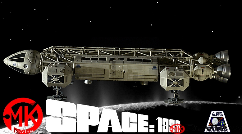 "Built Round 2 Models 22"" Space 1999 Eagle Transporter"