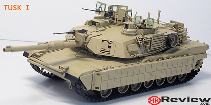 Academy Releases U.S. Army M1A2 TUSK II