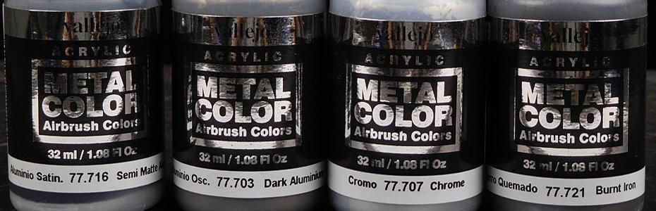 Hands on Vallejo Metal Colors