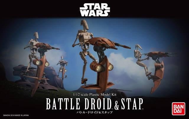 Star Wars Battle Droid & Stap